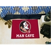 "FANMATS Florida State Man Cave Starter Rug 19""x30"""