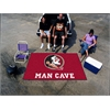 FANMATS Florida State Man Cave UltiMat Rug 5'x8'
