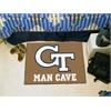 "FANMATS Georgia Tech Man Cave Starter Rug 19""x30"""