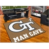 "FANMATS Georgia Tech Man Cave All-Star Mat 33.75""x42.5"""