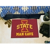 "FANMATS Iowa State Man Cave Starter Rug 19""x30"""