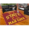 "FANMATS Iowa State Man Cave All-Star Mat 33.75""x42.5"""