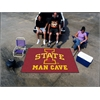 FANMATS Iowa State Man Cave UltiMat Rug 5'x8'