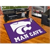 "FANMATS Kansas State Man Cave All-Star Mat 33.75""x42.5"""