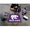 FANMATS Kansas State Man Cave Tailgater Rug 5'x6'