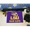 "FANMATS Louisiana State Man Cave Starter Rug 19""x30"""