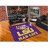 "FANMATS Louisiana State Man Cave All-Star Mat 33.75""x42.5"""