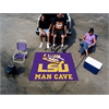 FANMATS Louisiana State Man Cave Tailgater Rug 5'x6'
