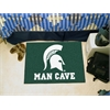 "FANMATS Michigan State Man Cave Starter Rug 19""x30"""