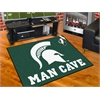 "FANMATS Michigan State Man Cave All-Star Mat 33.75""x42.5"""