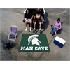 FANMATS Michigan State Man Cave Tailgater Rug 5'x6'