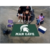 FANMATS Michigan State Man Cave UltiMat Rug 5'x8'