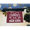"FANMATS Mississippi State Man Cave Starter Rug 19""x30"""