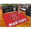 "FANMATS NC State Man Cave All-Star Mat 33.75""x42.5"""