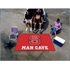 FANMATS NC State Man Cave UltiMat Rug 5'x8'