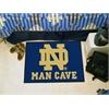 "FANMATS Notre Dame Man Cave Starter Rug 19""x30"""