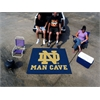 FANMATS Notre Dame Man Cave Tailgater Rug 5'x6'