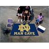 FANMATS Notre Dame Man Cave UltiMat Rug 5'x8'