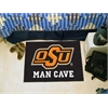 "FANMATS Oklahoma State Man Cave Starter Rug 19""x30"""