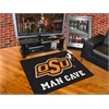 "FANMATS Oklahoma State Man Cave All-Star Mat 33.75""x42.5"""