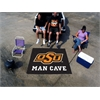 FANMATS Oklahoma State Man Cave Tailgater Rug 5'x6'