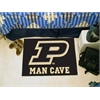"FANMATS Purdue 'P' Man Cave Starter Rug 19""x30"""