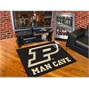 "FANMATS Purdue 'P' Man Cave All-Star Mat 33.75""x42.5"""