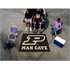 FANMATS Purdue 'P' Man Cave Tailgater Rug 5'x6'