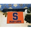 "FANMATS Syracuse Man Cave Starter Rug 19""x30"""