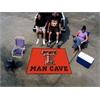 FANMATS Texas Tech Man Cave Tailgater Rug 5'x6'