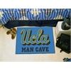 "FANMATS UCLA Man Cave Starter Rug 19""x30"""