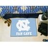 """FANMATS UNC - Chapel Hill Fan Cave Starter Rug 19""""x30"""""""
