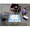 FANMATS UNC - Chapel Hill Fan Cave Tailgater Rug 5'x6'