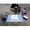 FANMATS UNC - Chapel Hill Fan Cave UltiMat Rug 5'x8'