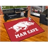 "FANMATS Arkansas Man Cave All-Star Mat 33.75""x42.5"""