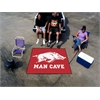 FANMATS Arkansas Man Cave Tailgater Rug 5'x6'