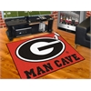 "FANMATS Georgia Man Cave All-Star Mat 33.75""x42.5"""