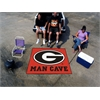 FANMATS Georgia Man Cave Tailgater Rug 5'x6'