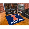 "FANMATS Illinois Man Cave All-Star Mat 33.75""x42.5"""