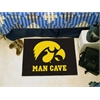 "FANMATS Iowa Man Cave Starter Rug 19""x30"""
