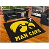 "FANMATS Iowa Man Cave All-Star Mat 33.75""x42.5"""
