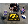 FANMATS Iowa Man Cave Tailgater Rug 5'x6'