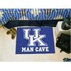 """FANMATS Kentucky Man Cave Starter Rug 19""""x30"""""""