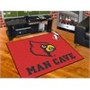 "FANMATS Louisville Man Cave All-Star Mat 33.75""x42.5"""