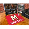 "FANMATS Maryland Man Cave All-Star Mat 33.75""x42.5"""