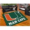 """FANMATS Miami Man Cave All-Star Mat 33.75""""x42.5"""""""