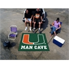 FANMATS Miami Man Cave Tailgater Rug 5'x6'