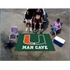 FANMATS Miami Man Cave UltiMat Rug 5'x8'