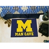 "FANMATS Michigan Man Cave Starter Rug 19""x30"""
