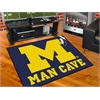 "FANMATS Michigan Man Cave All-Star Mat 33.75""x42.5"""